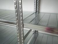Metalsistem, 320 kg Belastung, Stahlblech Regal