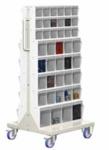 Transportwagen, Lagersichtbehälter, Unibox, Uniboxwagen