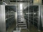 Fachbodenregale, Stahlbühne, Lagerhalle, Lagerung, Fachbodenregalsystem
